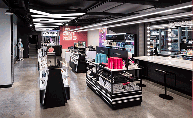 Covergirl Launches New Retail Mecca in Times Square, New York