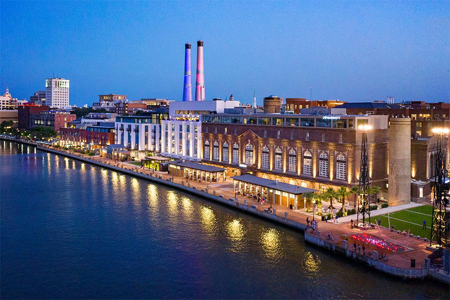 JW Marriott Savannah Plant Riverside District Power Plant Hotel