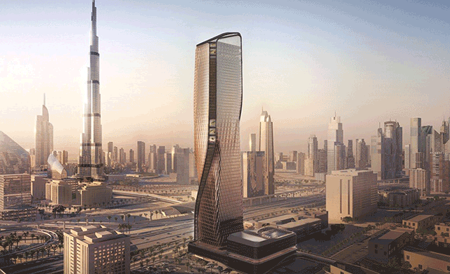 Second mandarin oriental hotel announced in dubai for Super luxury hotels in dubai