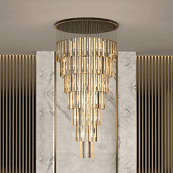 Blaze Suspension From Castro Lighting Hospitality Design