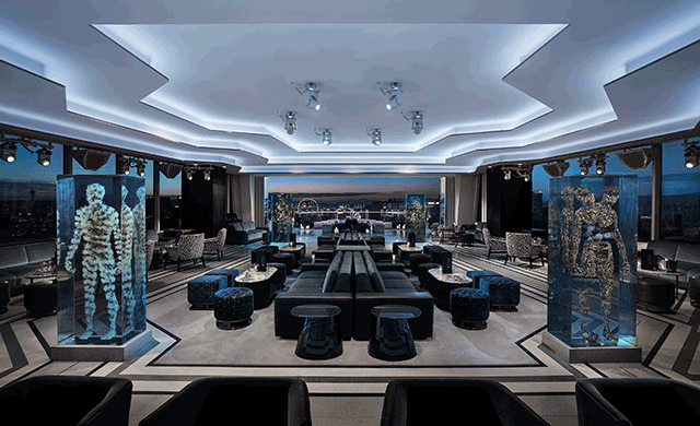 The Apex Social Club Has Opened Atop The Palms Casino U0026 Resort In Las Vegas.  Designed By Toronto Based Studio Munge, The Outdoor Patio And Terrace  Embraces ...