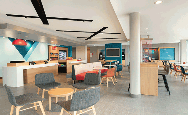 Maiden Avid Hotel Debuts In Oklahoma City Hospitality Design - Commercial flooring okc