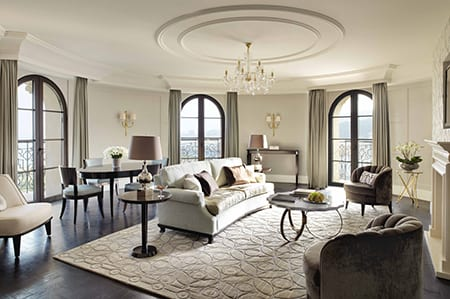 Nineteenth Century France Melds With Modern Europe In The Four Seasons Hotel Baku Azerbaijan Given A French Beaux Arts Design Brief London Based