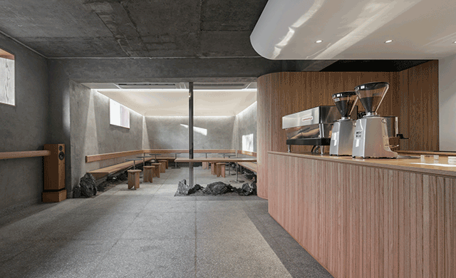 Labotory Creates The Minimalist Caf 233 Oriente In Seoul