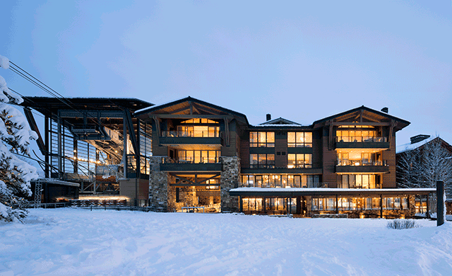 Commune Creates An Elegant Ski Retreat In Jackson Hole Wyoming