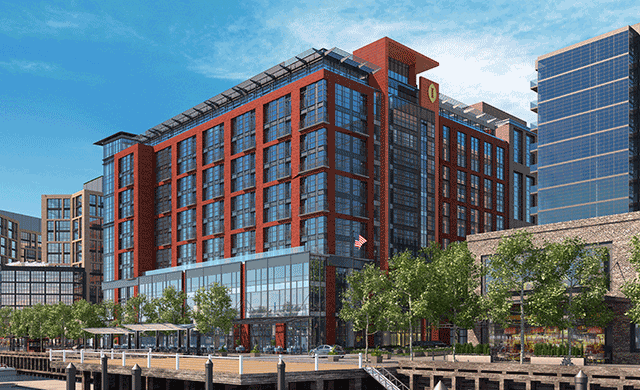 Intercontinental washington dc the wharf to open in for Hotel design washington dc