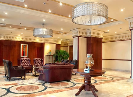 Jeff Ornstein Of Boston Based Firm J Brice Design Has Completed The 1200 Room 160 Million Royal Tulip Hotel In Alexandria Egypt