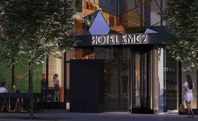 Rockwell group and koo design hotel emc2 hospitality design for Hotel design group