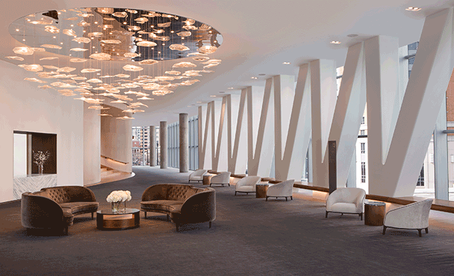 . Rottet Studio Led the Design of the Conrad Washington  DC