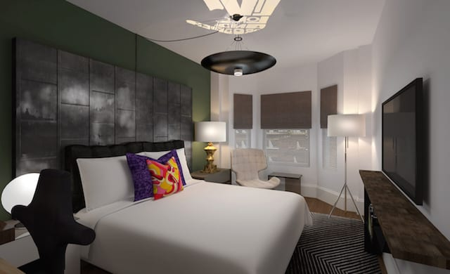 Dawson Design Ociates Crafts Hotel Zeppelin In San Francisco