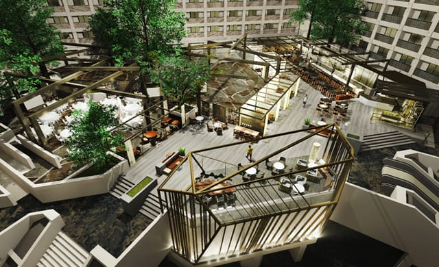 Featuring A New Design By HBA And Novato, California Based EDG Interior  Architecture + Design, The Hyatt Regency San Francisco Airport, Which Is  Owned By ...