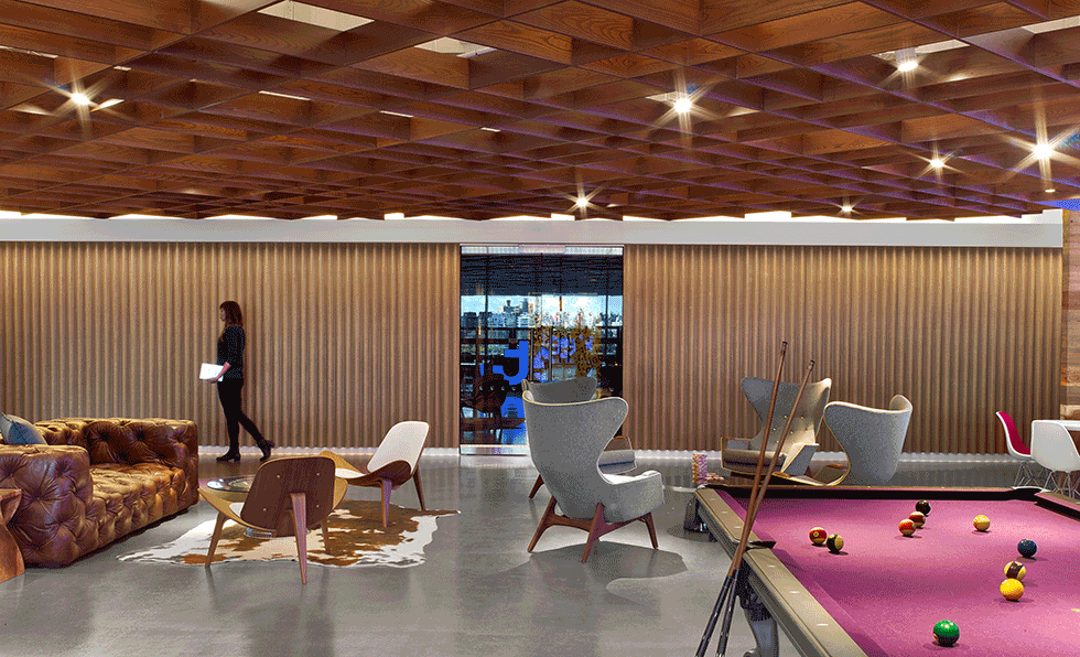 IA Interior Architects Looked To Jet.comu0027s Branded Shipping Box When  Crafting Its Headquarters In Hoboken, New Jersey, Conceiving Spaces With  Shipping ...