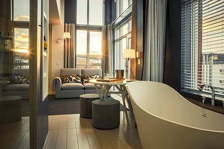 Hotel la ferme baie saint paul quebec hospitality design for Hotel design quebec