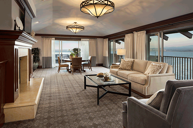 Monterey plaza hotel spa introduces four new suites hospitality design for Monterey hotels 2 bedroom suites