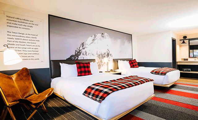 jackson hole s mountain modern elevates the motel concept