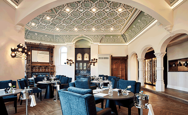Spread Across 100 Acres Of Parkland Oddfellows On The Park Has Debuted In Cheshire England Within A Gothic Revival Mansion 22 Room Hotel Was Restored