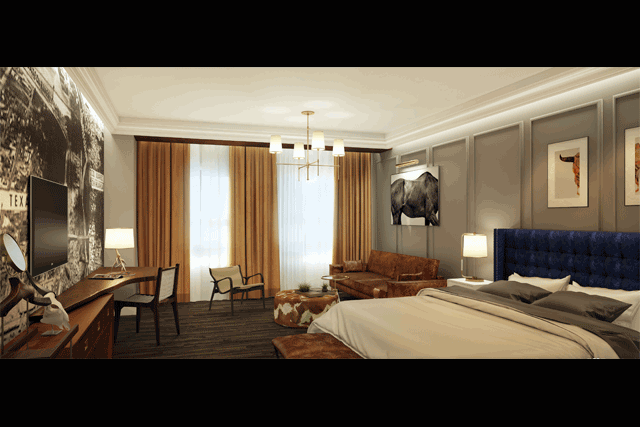 U201cThe Unique Vision Of Restoring And Renovating This Storied Hotel In El Paso  Is Inspired By The Rich, Historic Architecture And Material Details Of The  ...