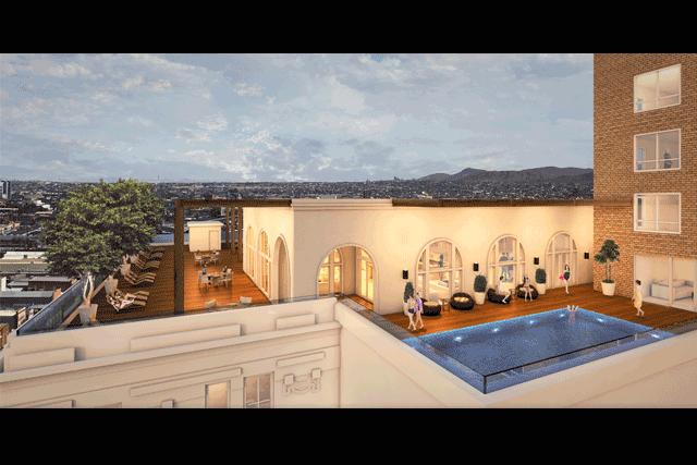 Kobi karp to renovate hotel el paso del norte for Pool design el paso tx