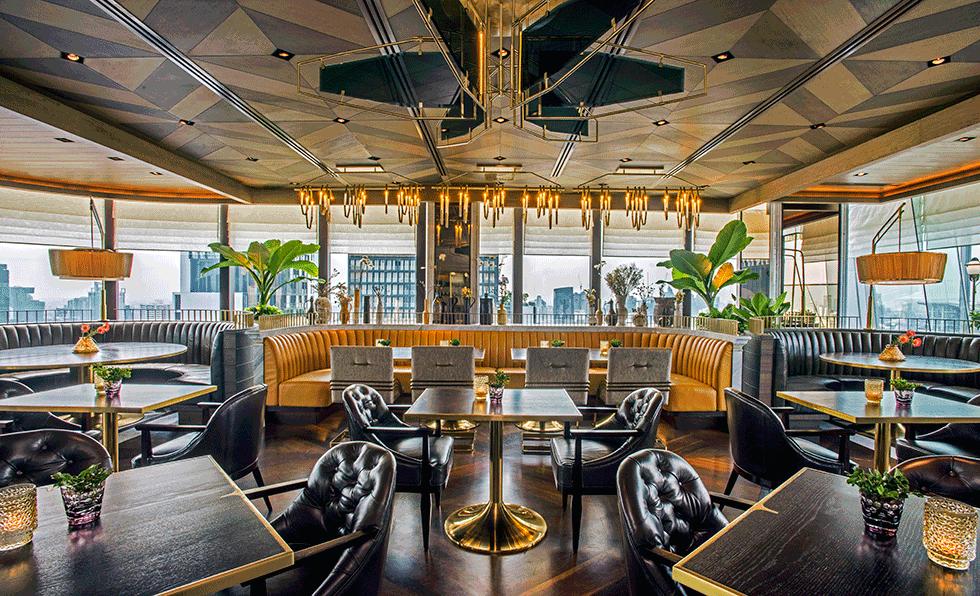 Photos penthouse bar grill hospitality design