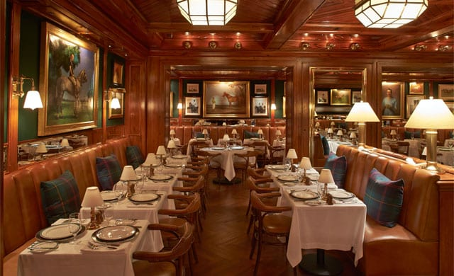 ralph lauren opens polo bar in new york hospitality design. Black Bedroom Furniture Sets. Home Design Ideas