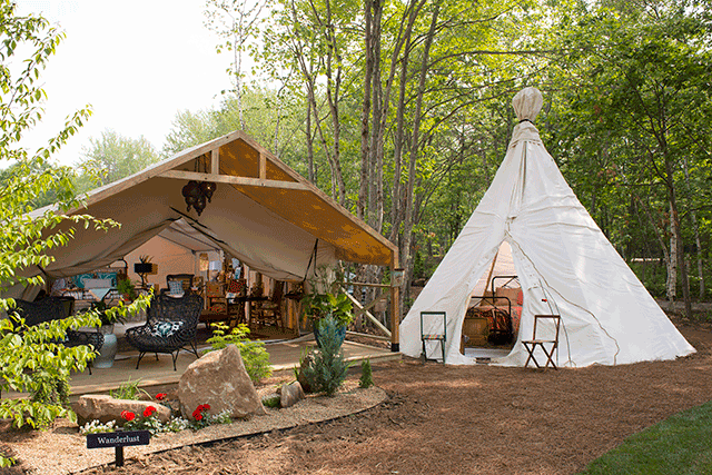 Luxury Camping Concept Sandy Pines Campground Arrives In