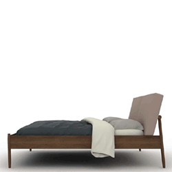 Designed By Jeffrey Bernett And Nicholas Dodziuk The Raleigh Bed From Design Within Reach Draws Inspiration Midcentury Danish