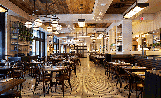 The Smith Arrives In Washington DC Hospitality Design - Table restaurant dc