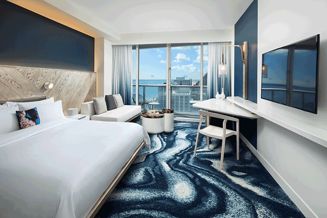 W Fort Lauderdale Unveils First Phase Of 55 Million Redesign Hospitality Design