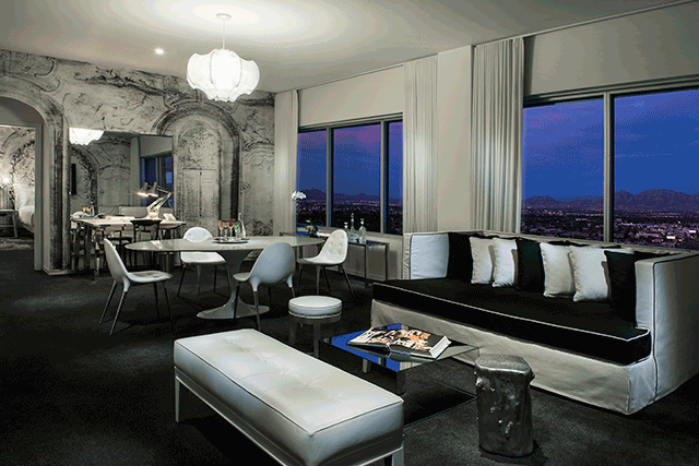 The 2382 Square Foot Extreme WOW Suite Adorns Top Of Tower With Exclusive Designs From Artist Musician And Designer Lenny Kravitz