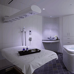 Kohler Outfitted The Wet Room At Its Kohler Waters Spa Burr Ridge With A  Custom Vichy Shower That Ensure The Hands Of Spa Technicians Never Leave  The Body ...