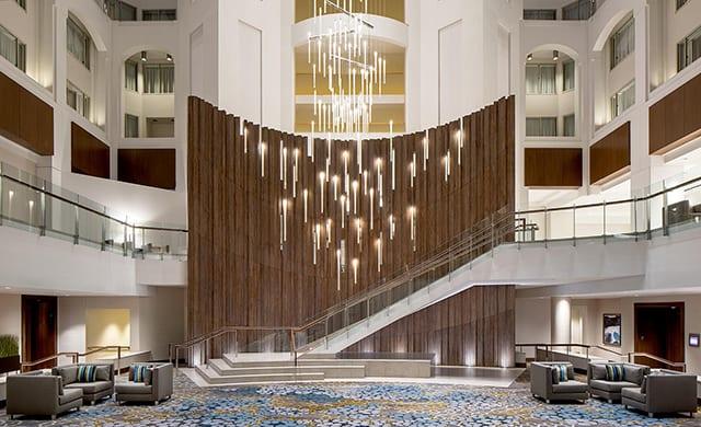 Grand Hyatt Washington Debuts New Lobby Hospitality Design