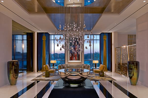 Tihany design crafts the four seasons hotel dubai for Dubai finest hotel