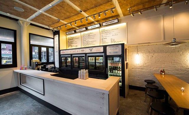 Avroko designs genuine superette hospitality design for New york based architecture firms