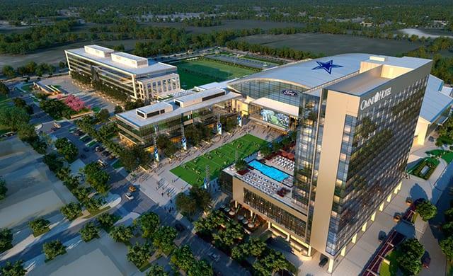 Omni Building Hotel Near Dallas Cowboys World Headquarters