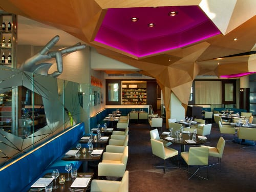 Rasika west end washington dc hospitality design