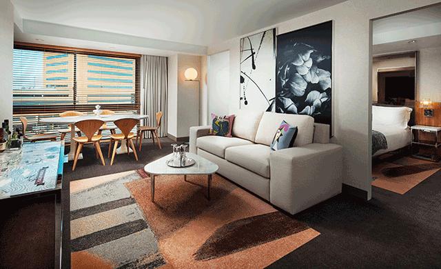 Avenue Interior Design Makes Over SLS Beverly Hillsu0027 Guestrooms