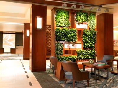 Westin Hotels \u0026 Resorts is taking cues from nature in its new lobby concept. At the heart of the space is a Vertical Garden which integrates wall-mounted ... & Westin Taps into Nature for New Lobby Concept   Hospitality Design